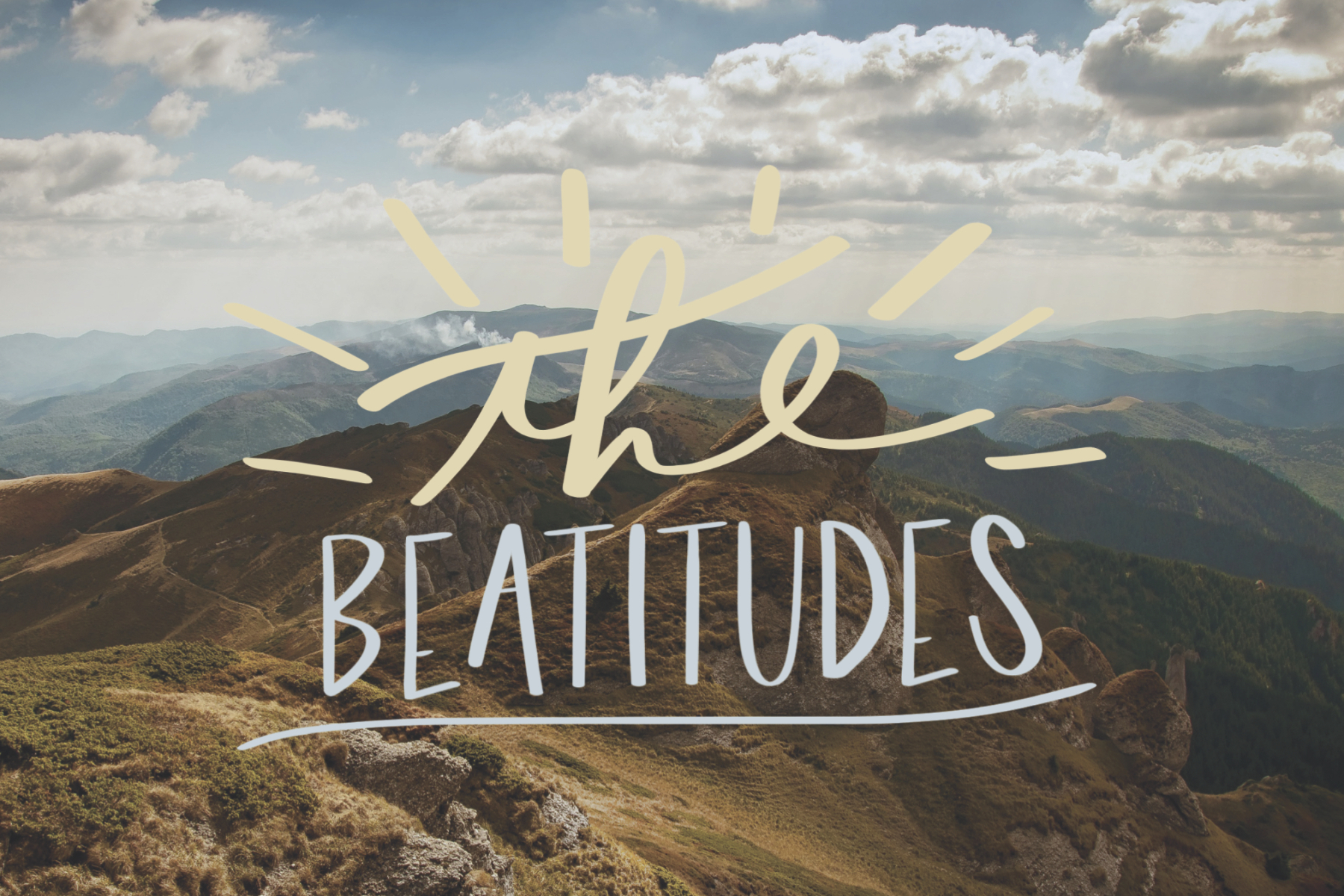 The Beatitudes – Ipswich Catholic Community